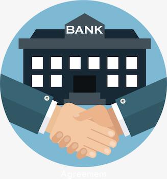 銀行融資模式